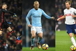 Combined Premier League team of the season so far: Manchester City players dominate