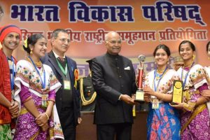 Kovind attends the 43rd National Group Song competition