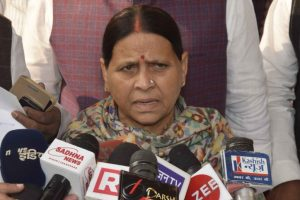 Fodder scam: Rabri, son disappointed over Lalu conviction