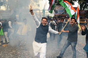 Celebrations in Lucknow, Amethi as Rahul takes over as Congress chief