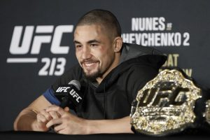 Robert Whittaker becomes first Australian to hold UFC title