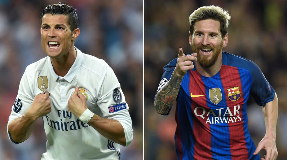 La Liga's leading footballers -- Real Madrid's Cristiano Ronaldo and Barcelona's Lionel Messi