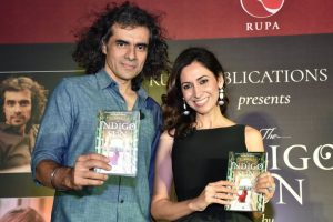 Imtiaz Ali at the launch of Rupa Bhullar's 'The Indigo Sun'