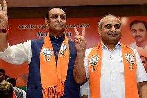 Denied key portfolios, Gujarat Deputy CM Nitin Patel misses office