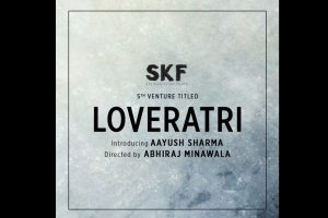 Salman Khan's 5th venture starring Aayush Sharma titled 'Loveratri'!