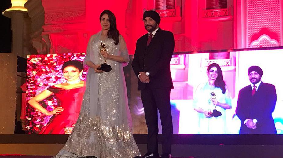 Megastar, Sridevi, Masala Awards, Dubai
