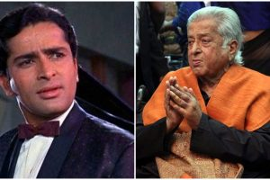 Shashi Kapoor wrapped in Tricolour for last rites, gets three-gun salute