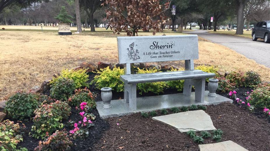 Sherin Mathews bench