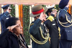 On Vijay Diwas, Nirmala Sitharaman pays tributes to martyrs of 1971 war