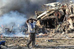 13 killed in Somalia suicide attack