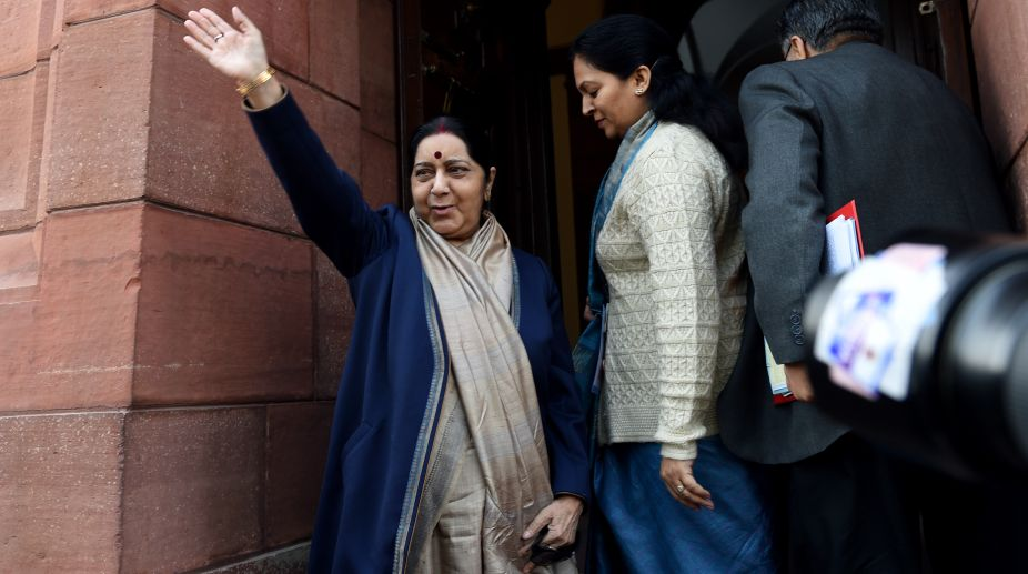 Sushma Swaraj concludes 'productive' three nation visit