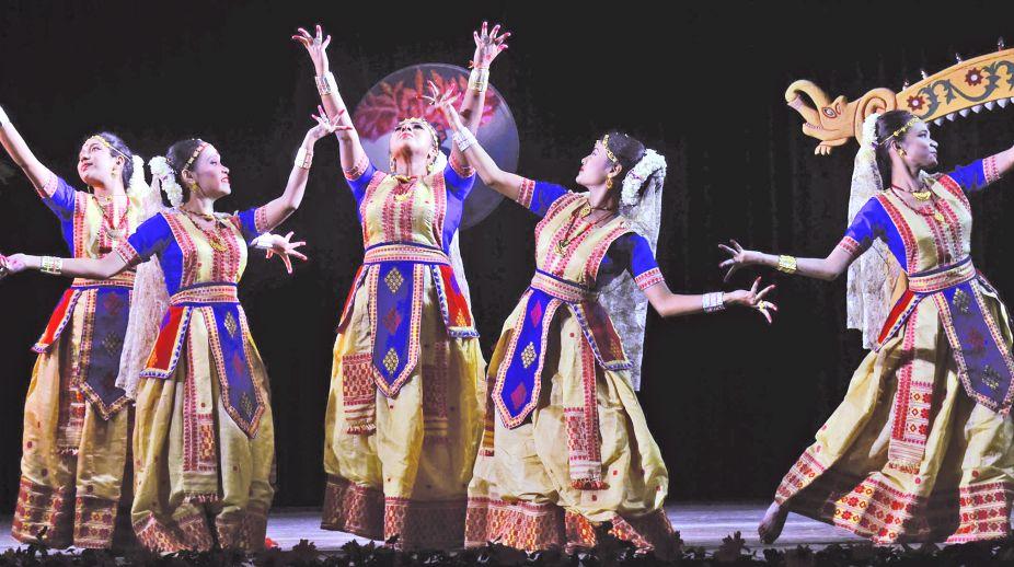 Nritya Parva Festival, Devika Saikia Barthakur group, Mallika Kandali