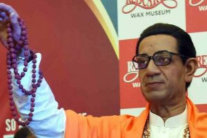 Bal Thackeray wax statue unveiled at Maharashtra museum