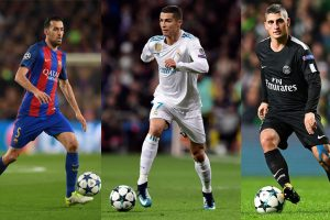 UEFA Champions League Team of the Year: Star performers from the group stage