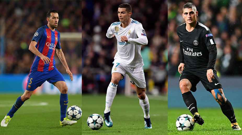 UEFA Champions League, F.C. Barcelona, Real Madrid C.F., Paris Saint-Germain F.C.
