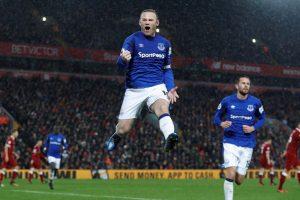 Premier League: Wayne Rooney rescues Everton draw against derby rivals Liverpool