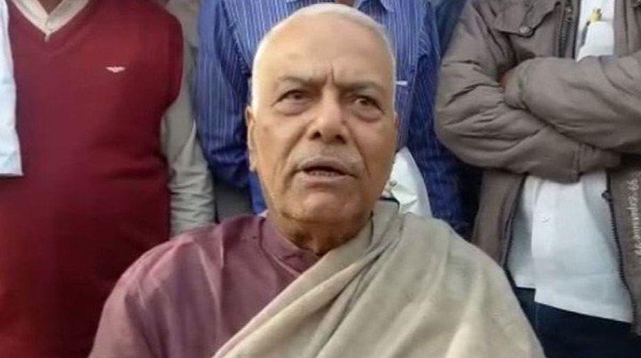 Yashwant Sinha, Maharashtra, Protest, Farmers