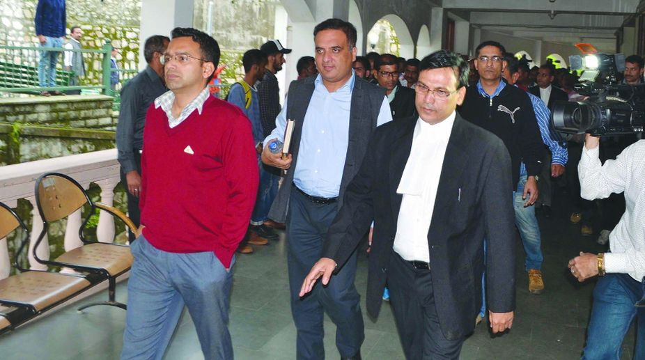 Himachal Pradesh High Court, judicial custody, arrested cops, CBI