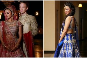 Aashka Goradia gets married to long time boyfriend Brent Globe; pics