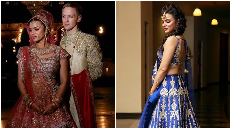 Aashka Goradia gets married to long time boyfriend Brent