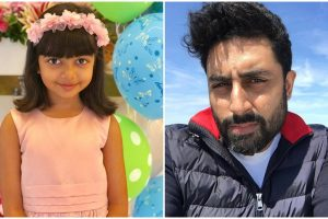 Abhishek Bachchan gives befitting reply to a tweet against Aaradhya