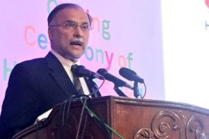 Pakistani minister Ahsan Iqbal injured in assassination attempt