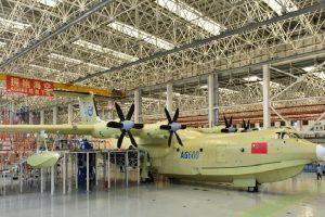 Chinese amphibious aircraft completes maiden flight