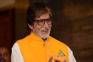 Amitabh Bachchan does look test for his next film
