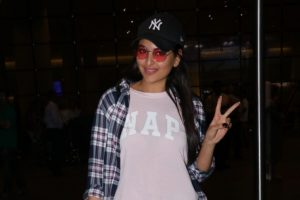 Sonakshi Sinha in Bangkok for 'Happy Bhag Jayegi Returns'