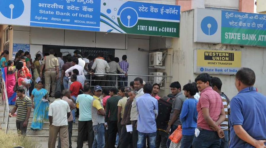 Cash situation, currency shortages, ATMs, SBI