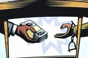 Income Tax officer held for taking bribe in Haryana