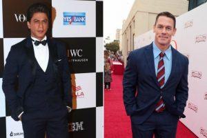 Shah Rukh Khan would love to 'see' WWE wrestler, John Cena