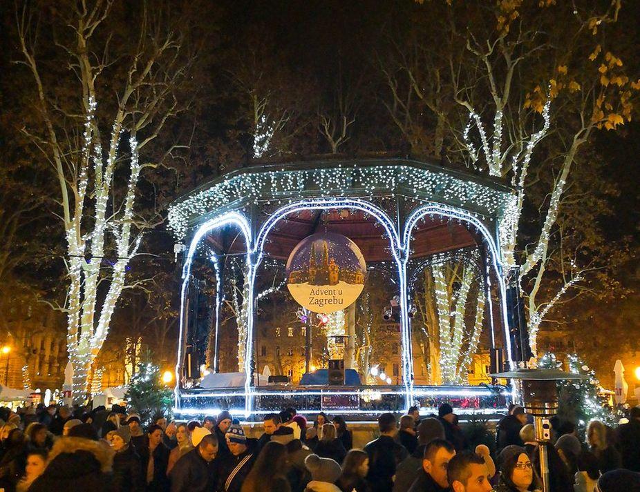 Christmas, Europe, Zagreb, Market