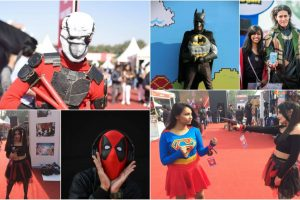 Cosplayers steals the show at Delhi Comic Con 2017