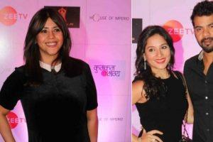 Ekta Kapoor celebrates Kumkum Bhagya's 1,000 episodes with TV celebs