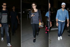B-town celebs' style statements at Mumbai airport!