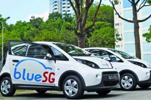 Singapore's push to e-cars
