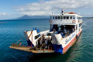 Ferry with 251 people capsizes off Philippines