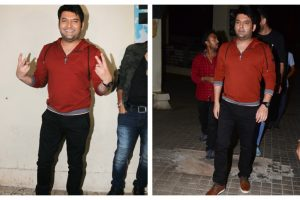 Kapil Sharma holds special screening of 'Firangi' for friends; see pics