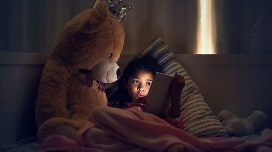 'Kids now spend 30 minutes more everyday on digital screens'