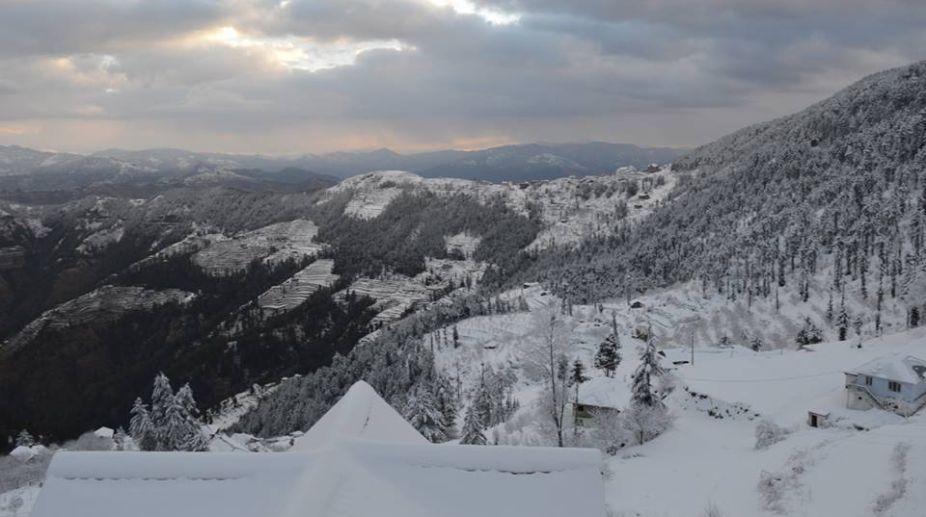 Himalayan peaks, Kufri, Royal Tulip resort, Winters
