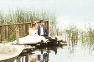 Group wedding held on frozen China-Russia border lake