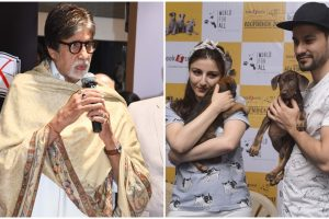 PICS: Big B at a book launch; Soha and Kunal attend Adoptathon