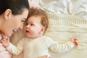 Eye contact with your baby may boost communication skills