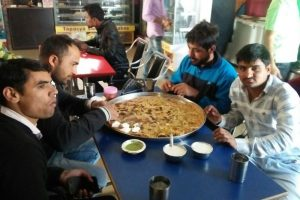 Welcome to Haryana's big fat parantha challenge