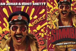 Ranveer turns quirky policeman for 'Simmba'