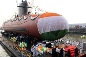 Submarine INS Kalvari to be commissioned by PM Modi tomorrow
