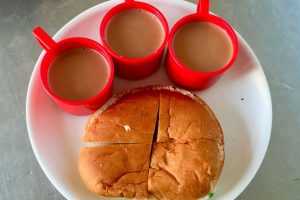 Culture of 'bun, tea' made Papparoti come to India
