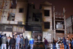 17 killed, 30 injured in massive fire in Delhi warehouse