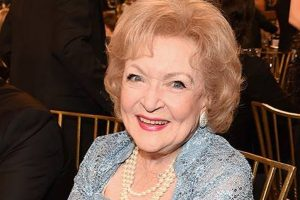Accentuate the positive: Betty White's secret to long life